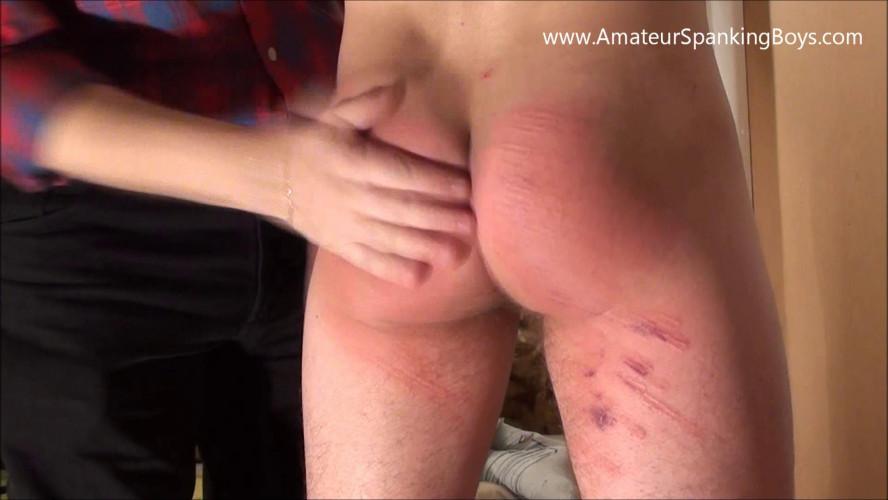 Gay BDSM Lukas Liz. Hard Caning