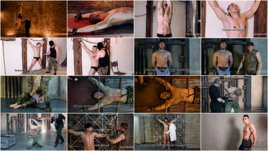 Gay BDSM Magnificent 47 Clips Ruscapturedboys . Part 1.