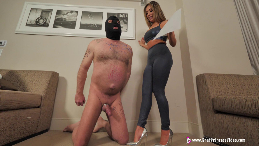 Femdom and Strapon Princess Amber & Lexi Chase - Humiliate An Old Loser