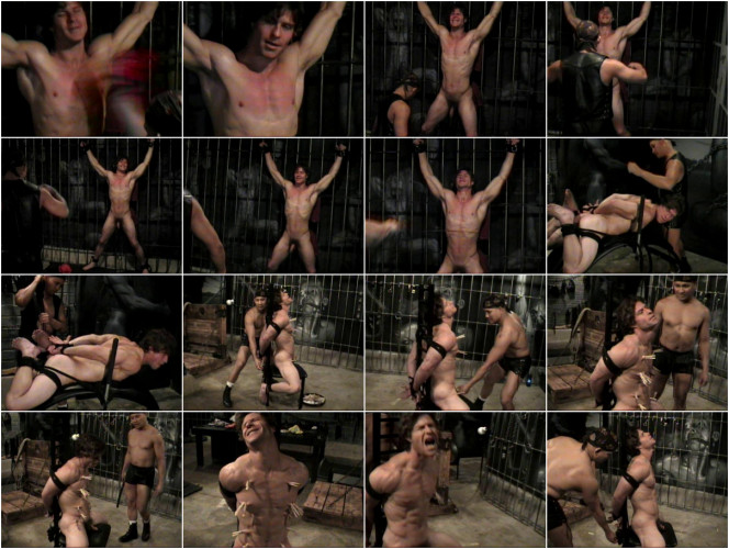 Gay BDSM Tough Man Bondage