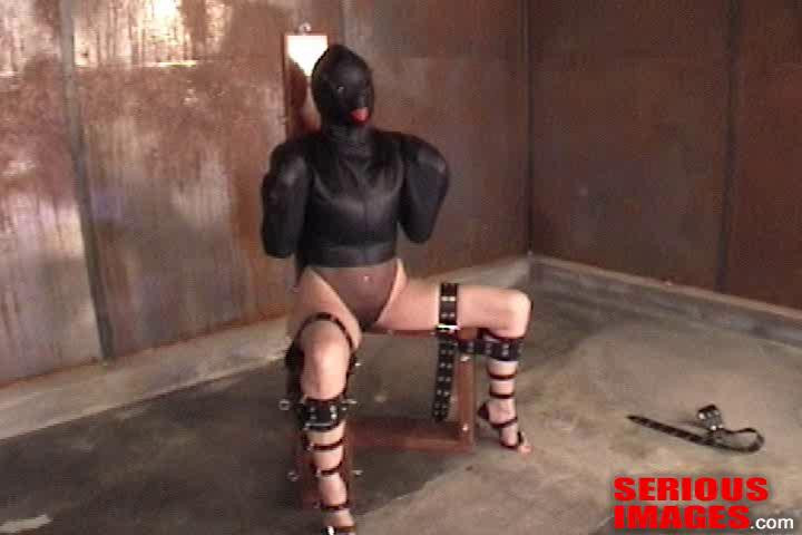 BDSM Ashley Renee - Butterfly Straitjacket Fuck Suit