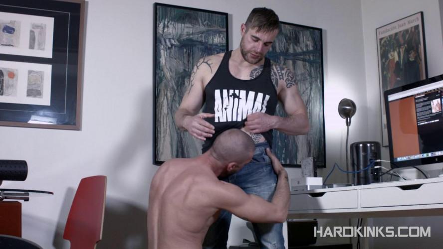 Gay BDSM Helping My Sub Roommate (Geo Dovek, Isaac Eliad)