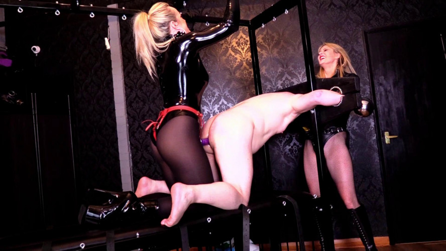 Femdom and Strapon Mistress Tess Domina Scarlet One size fits all