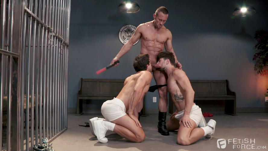 Gay BDSM Submission Prison, Scene 01