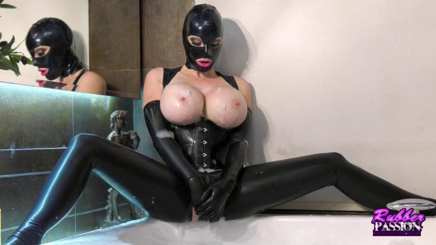 BDSM Latex Blissful Bubble Bath