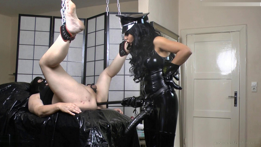 Femdom and Strapon Femdom HD Porn Videos Fucked And Milked By Wardress
