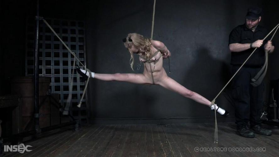 BDSM Bound Test For Slim Babe Alice