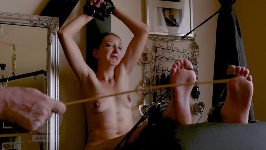 BDSM Jasmins Punishment Soles Passing Through Hell Part Three