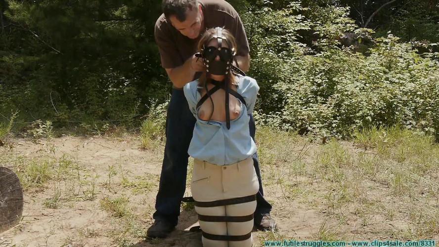 BDSM The Vigilante Turns His Attention Towards Rachel - Outdoor Leather Bondage - Part 1