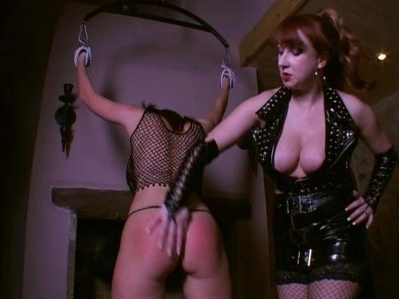 BDSM Latex Uk Lesbian Spanker Part 2