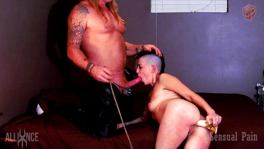 BDSM Extreme Slave Anal Training - Abigail Dupree
