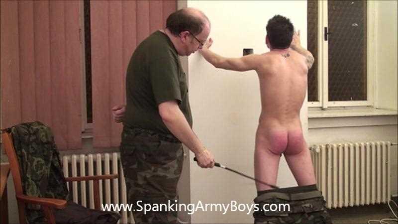 Gay BDSM SpankingBoysVideo - 0040 Army - Patrick Ta.