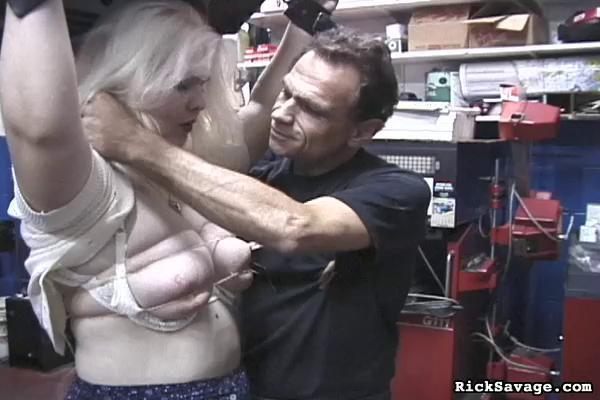BDSM Extreme Tit Torment  Liz