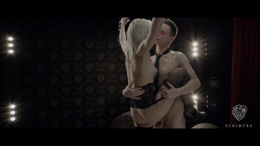 BDSM Sensual Hungarian babe Zazie Skymm enjoys bondage fetish sex session