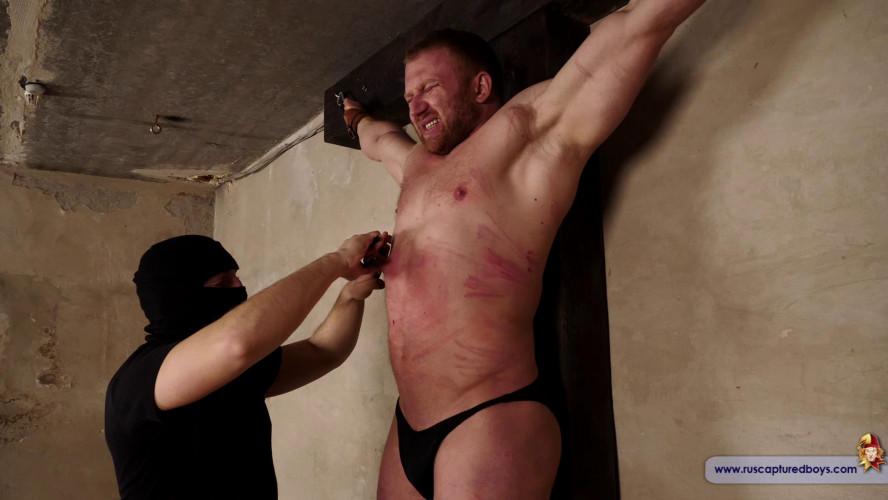 Gay BDSM Bodybuilder Stepan in Slavery. Final