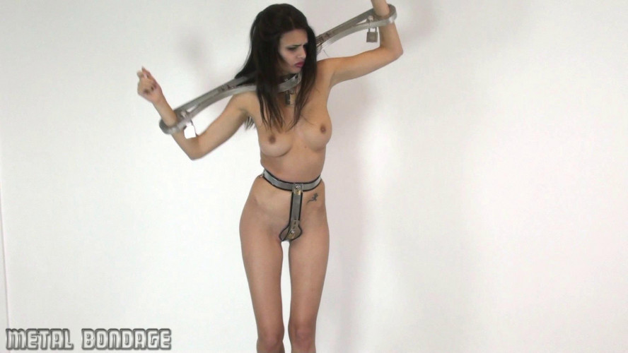 BDSM Yasmine hardened steel chastity belt