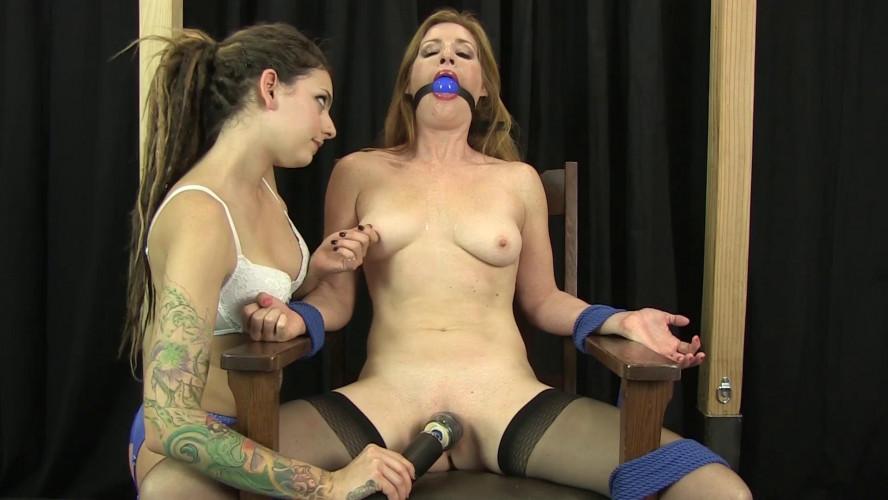 BDSM Amber Teased to Orgasm