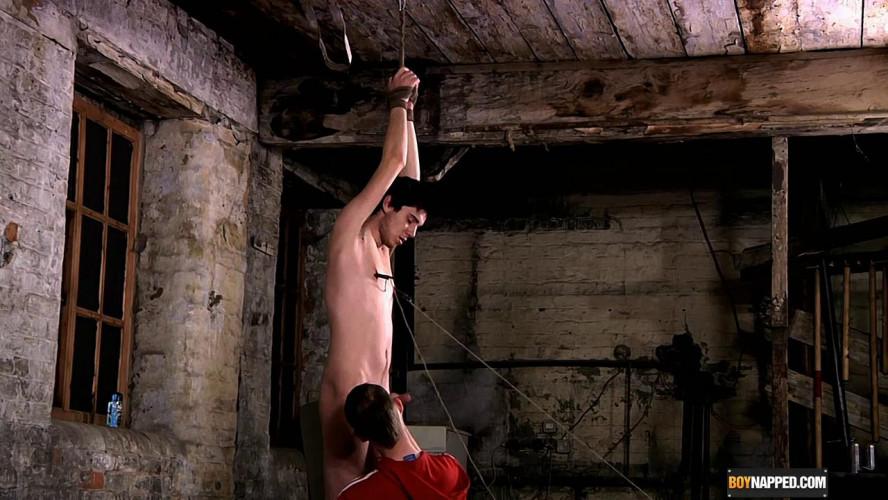 Gay BDSM Jonny gets Pegged & Wanked