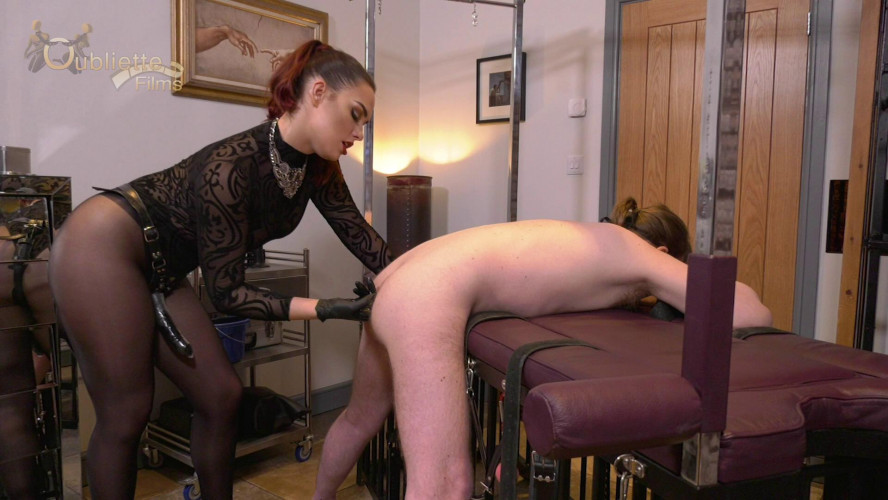 Femdom and Strapon Mistress Serena -Taken From Behind (2020)