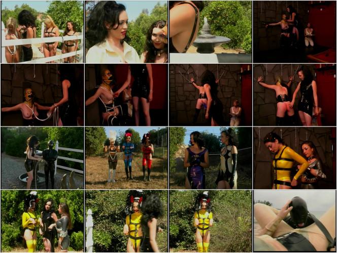 BDSM Latex Ivy Manor Scene 6 - Pony Girls in Training