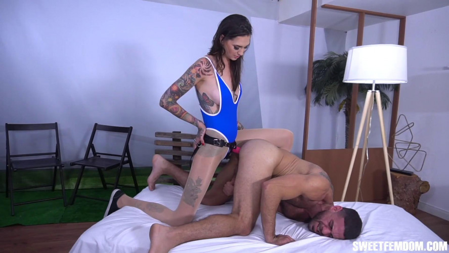 Femdom and Strapon Rocky Fucks the Cum Out of Ricky