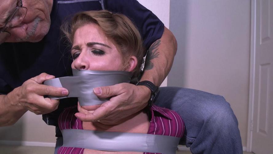 BDSM whitney tape bondage