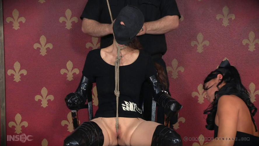 BDSM Latex Pain Puppet Part 1