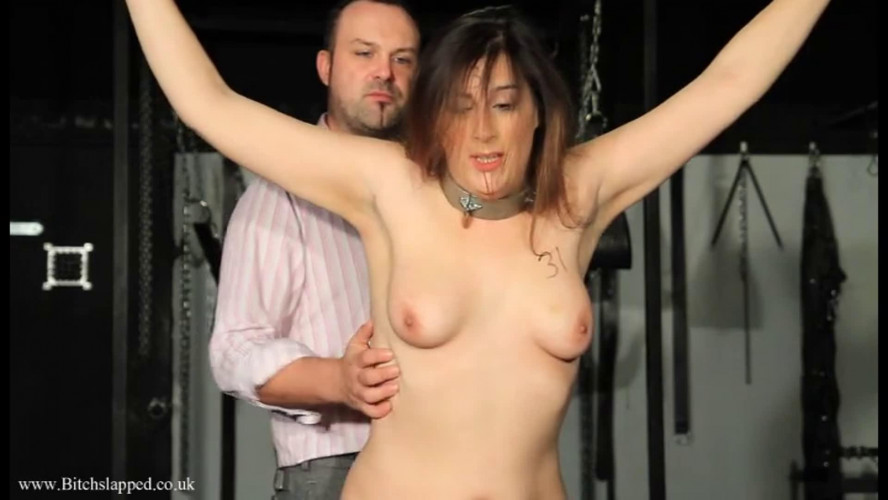 BDSM Bondage, spanking, torment and torture for naked bitch part 1