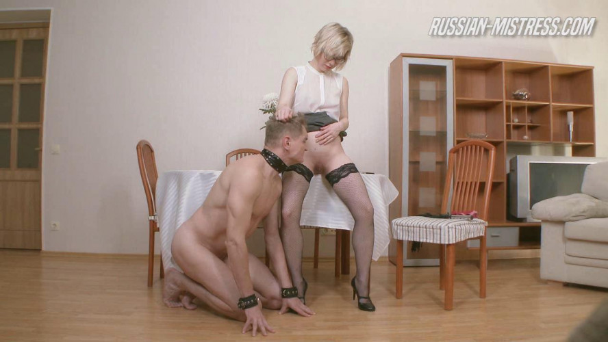 Femdom and Strapon Dayana Likes Humiliation