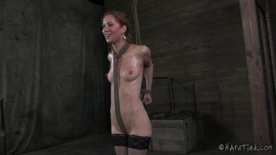 BDSM HT - The Uncut - No editing, one take. All the tying onscreen - Calico - HD