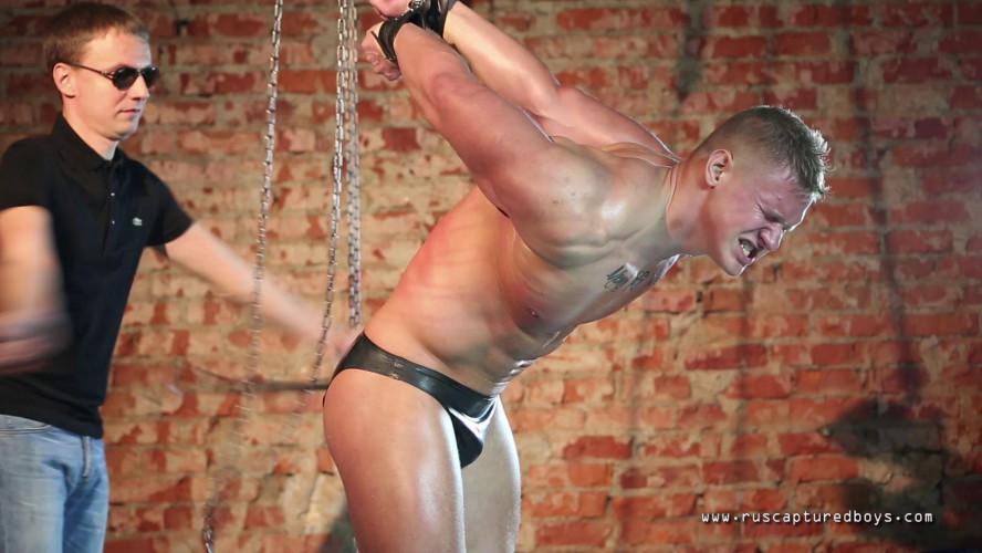 Gay BDSM RusCapturedBoys - Slave for Sale - Vasily - Final Part