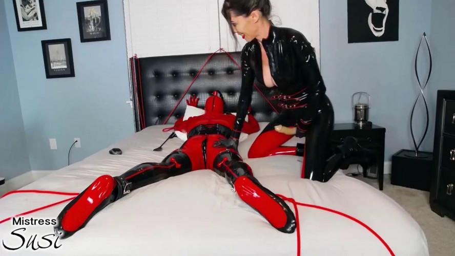 BDSM Latex Rubber Doll Strapless