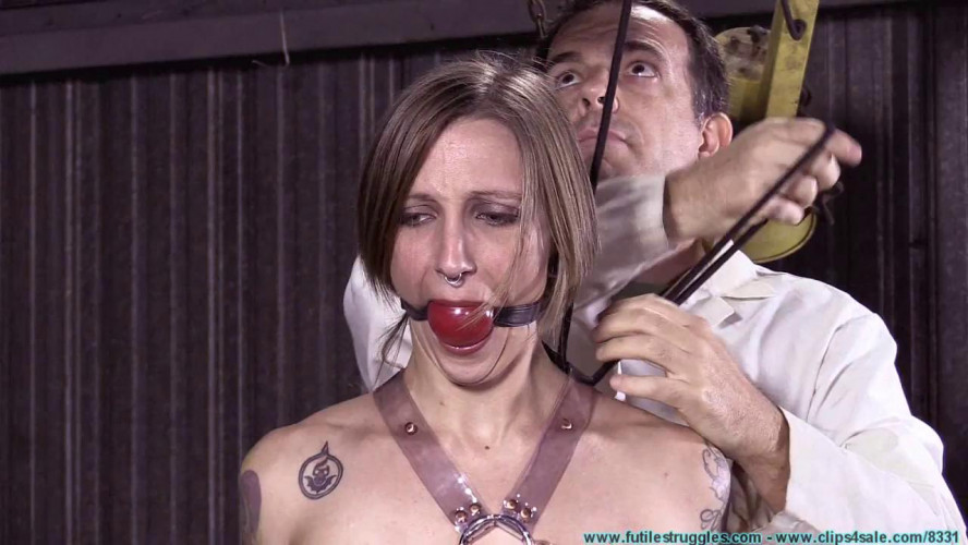 BDSM Dr. Cupcakes Binds IR with His New Clear Polymer Straps - Part 1
