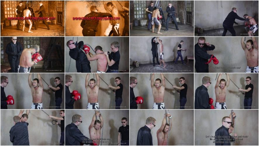 Gay BDSM RusCapturedBoys - Mixfighter Anatoliy - Part I
