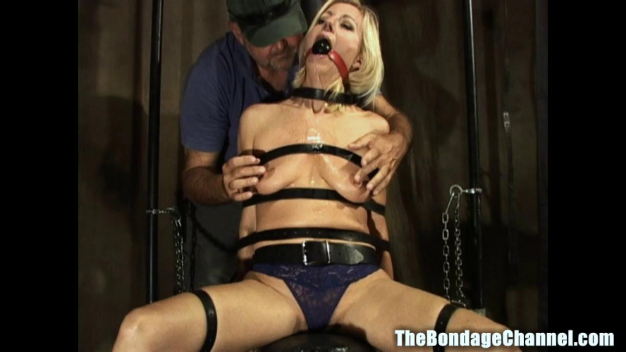 BDSM TheBondageChannel - Milf Mo Chair Bound Orgasms