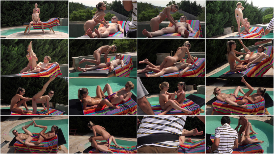 Fisting and Dildo Gina Gerson and Alecia Fox Finger Licking Good Bts