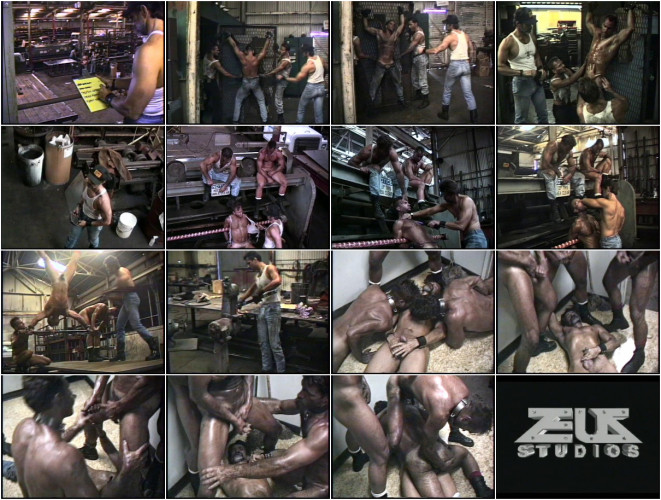 Gay BDSM Steel Dungeon - pt.2