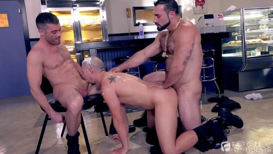 Gay BDSM Domination Diner, Scene #03