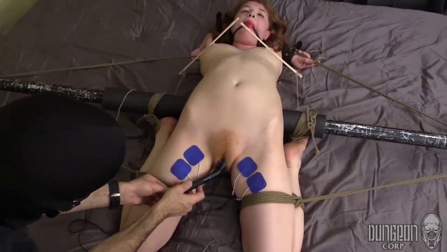 BDSM Tight bondage, spanking and torture for beautiful model part2 HD 1080p
