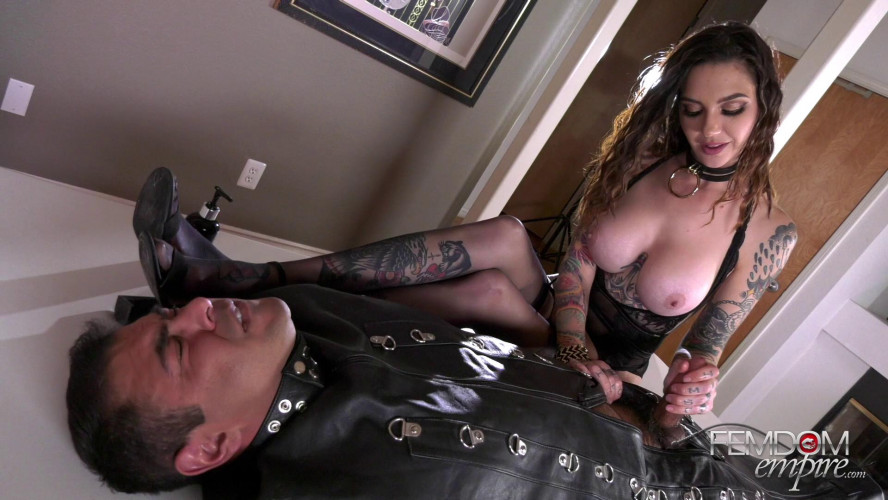 Femdom and Strapon Rocky Emerson - Good Slaves Get Milked 1080p