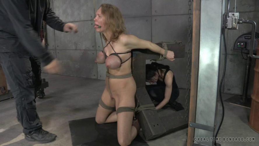 BDSM Broken Blonde With Ashley Lane & Rain DeGrey