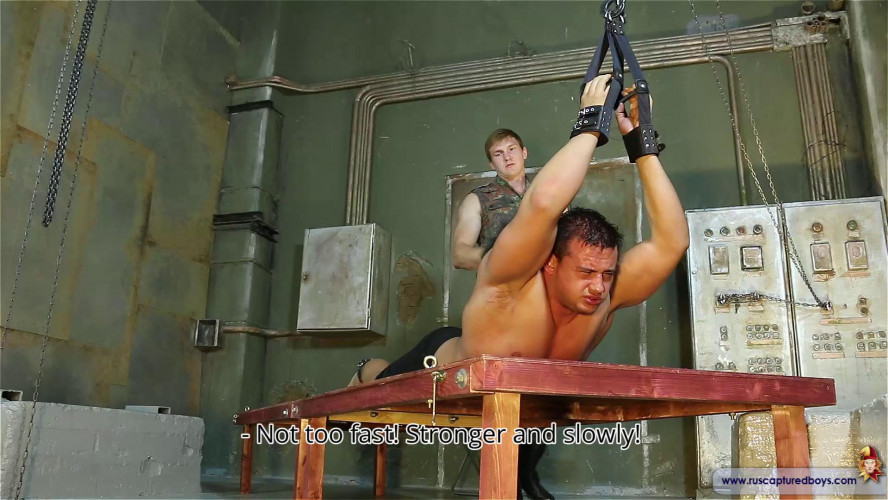 Gay BDSM Must be in captivity part 12