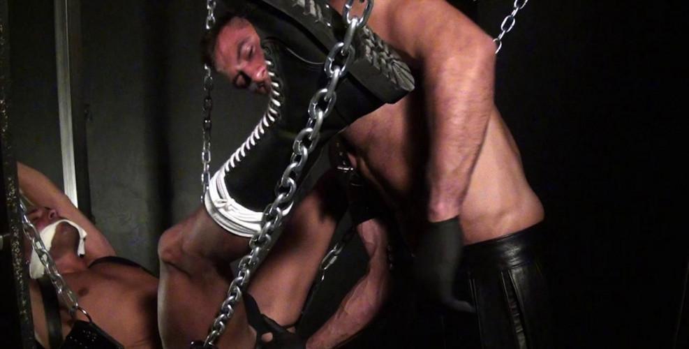Gay BDSM Sergi And Yera Are Kinky Gays