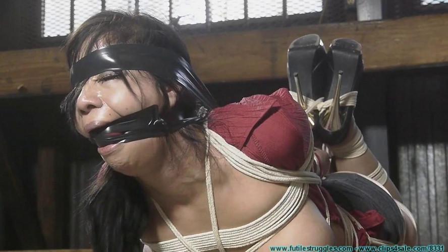BDSM Kimmy Lee Hogtied in the New Studio vol. 3