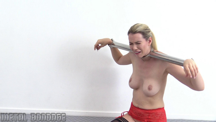 BDSM Nicky in the Heavy Stocks