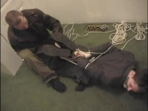 Gay BDSM Bound Guys  Suit and Tied