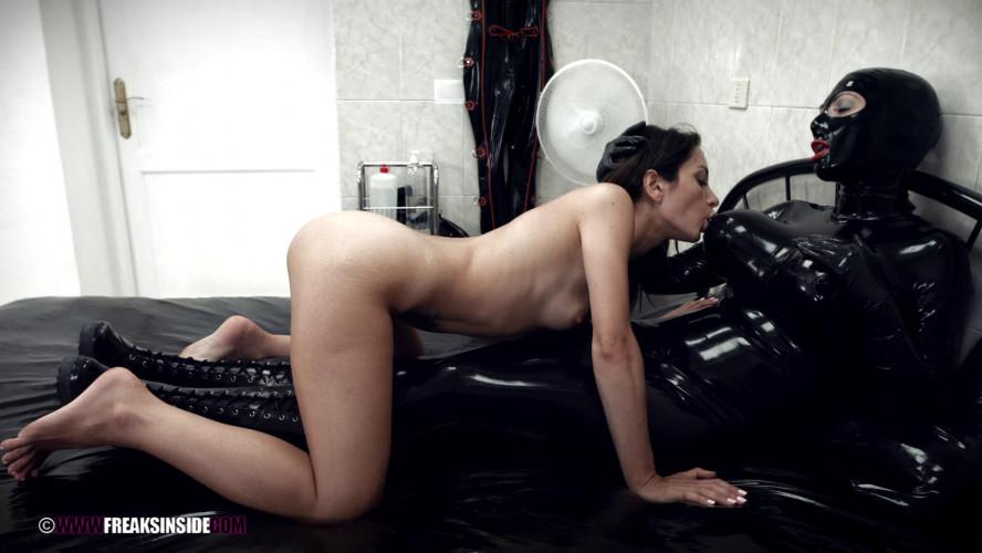 BDSM Latex Rubber Strapon