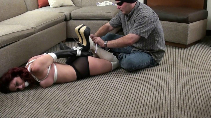 BDSM Beautifull Cool Sweet Gold New Nice Collection For You Tied In Heels. Part 2.