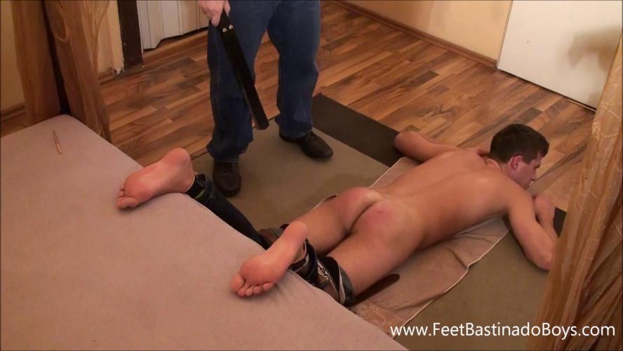 Gay BDSM FeetBastinadoBoys - Christian Strap
