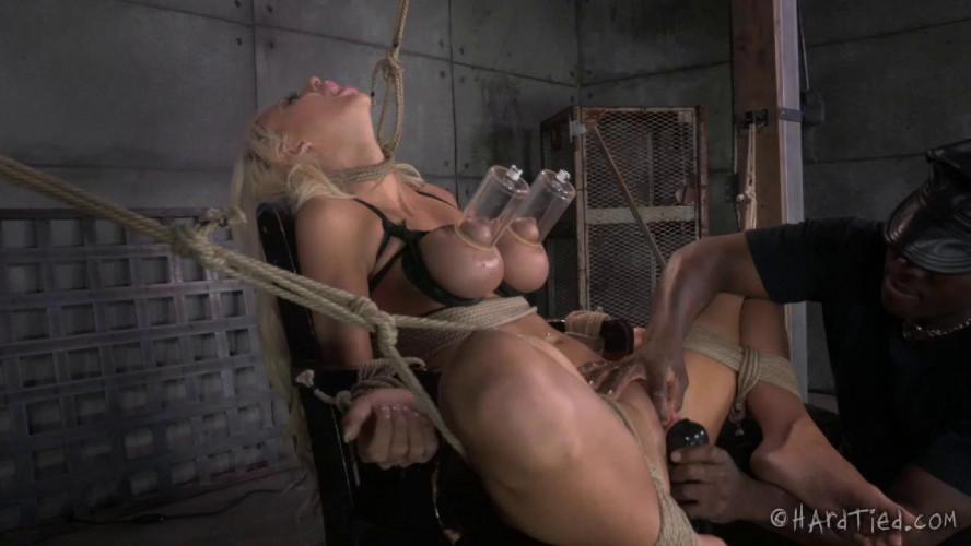 BDSM HT - A Bondage Barbie - Jack Hammer and Courtney Taylor